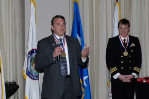 Mr. Jeff Dillemuth - Chief of Future Operation Branch, US Northern Command (left)