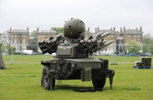 Soldiers Load a Rapier Missile System During London Olympics Security Exercise