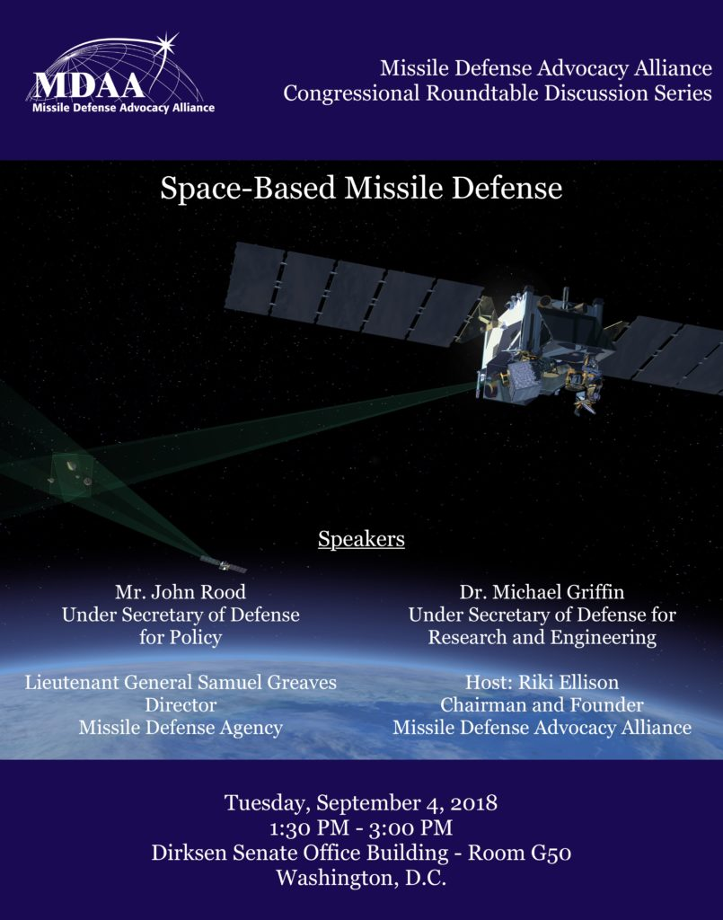 mdaa  Missile Defense Advocacy Alliance » Space-Based Missile Defense
